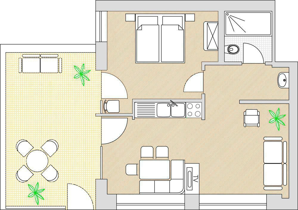 Appartamento Karl Deluxe Residence Hofer