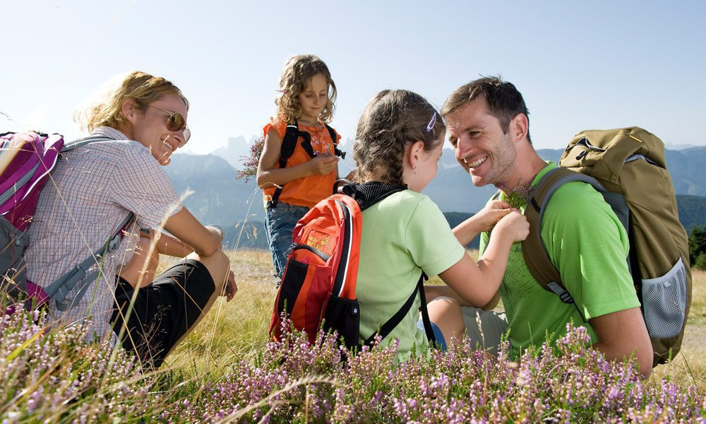 Active family vacation in Valle Isarco