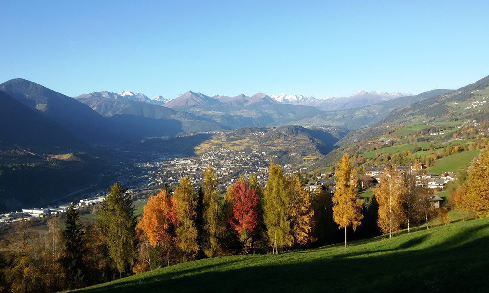 The mediterranean autumn in Bressanone – simply perfect for hiking