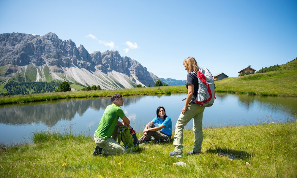 Plose, by Brixen – the first-class ski and hillwalking resort in South Tyrol.